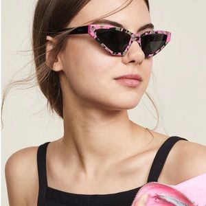 Prada Millennial barrow cat eye sunglasses